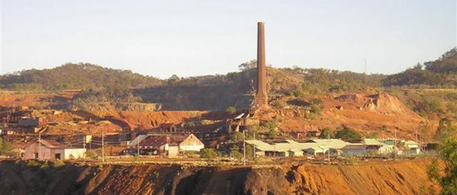Mount Morgan Mine Late Afternoon