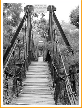 The Old Swinging Bridge